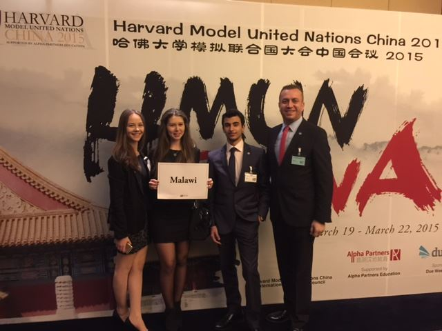 HARVARD M.U.N. China Ekibimiz...